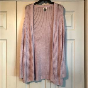Old Navy Lilac Knit Cardigan